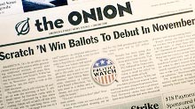 "The folks at satirical newspaper and website <em>The Onion</em> have a novel way of creating ""stories"": they write the headlines first, then fill out the article (just like many real newspapers, we suspect). The <em>NYT</em> sits in on the surprisingly complex creative process."