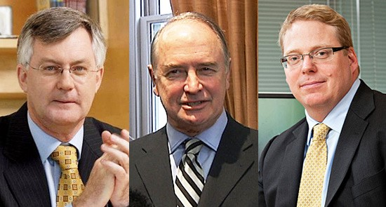 Three senior bureaucrats have taken the country on a bold economic experiment to address climate change. Martin Parkinson, Blair Comley and Ross Garnaut have fingerprints all over the carbon price -- but is that such a good thing?