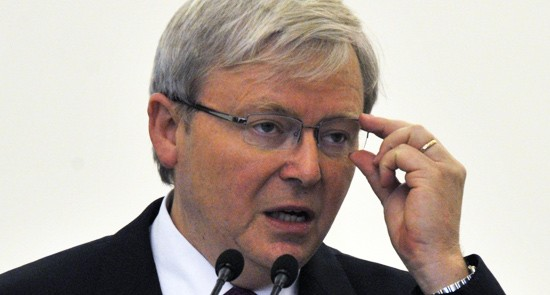 Rudd's cynical form on exploiting indigenous issues