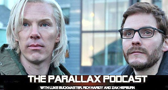 Parallax Podcast: The Fifth Estate, The Butler, Thor 2, Captain Phillips & more