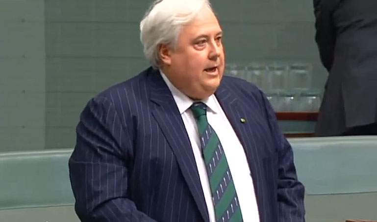 Clive Palmer, Cathy McGowan and four other MPs stood in federal Parliament yesterday to give their maiden speeches. <em>Crikey</em> intern <b>Tim Oliver</b> captures the best of the rhetoric ...