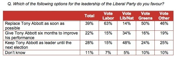 Essential: voters split on Abbott ouster, but don't think he'll last