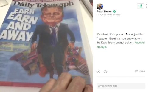 <em>The Daily Telegraph</em> branded Scott Morrison Superman for his federal budget. But commentators found plenty of kryptonite.