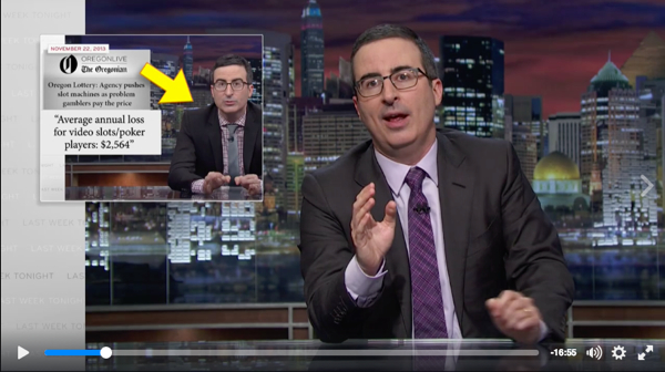 Newspaper association v John Oliver