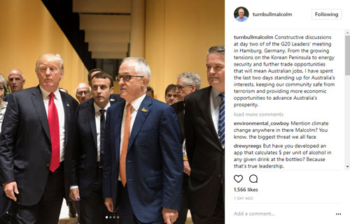 Whatever happened to growth? ... Turnbull's Instagram power play ... ABC v coal ...