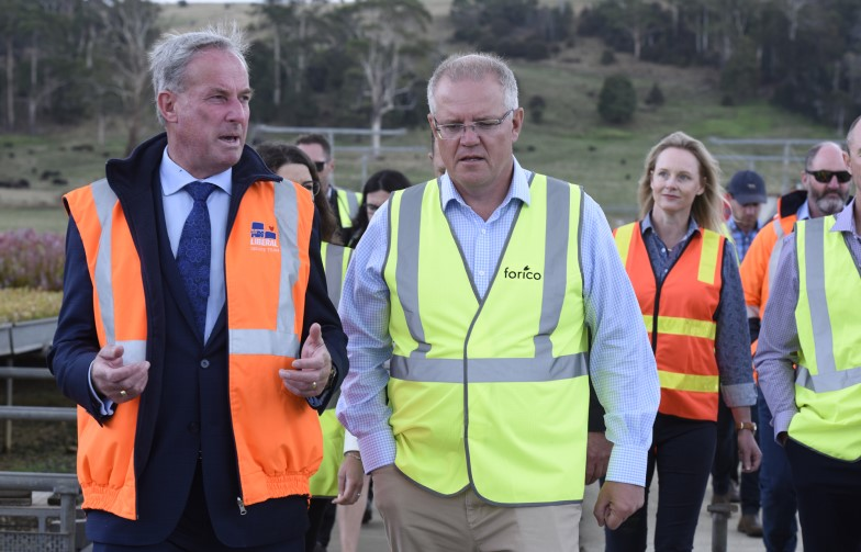 Scott Morrison emissions reduction fund climate change carbon
