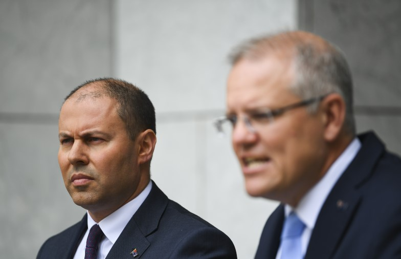 Josh Frydenberg Scott Morrison Budget 2019 federal election