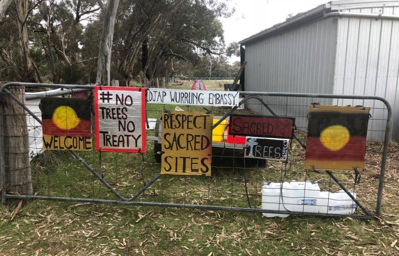 Djab Wurrung birthing tree protest treaty victorian government