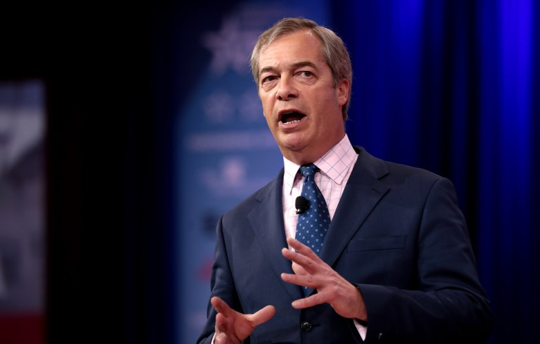 Nigel Farage brexit party EU elections populist nationalist