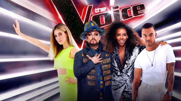the voice tv ratings nine