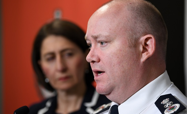 NSW Rural Fire Service Commissioner Shane Fitzsimmons (Image: AAP/Joel Carrett)