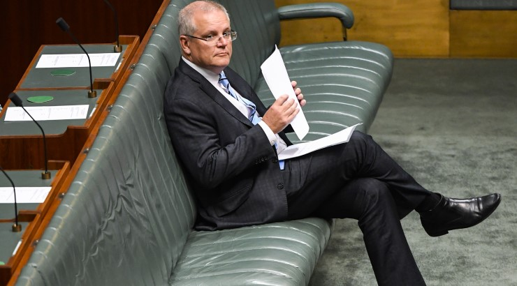 Scott Morrison Coalition parliament
